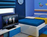 Mrs Vero Kids Bedroom, KBP, Bandung