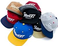 Filter017 VINTAGE FONTS SNAPBACK CAP