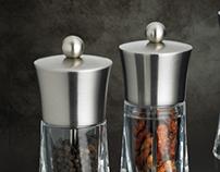 Range of salt and pepper mills for PEUGEOT -2012-