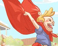 Red cape