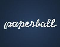 PAPERBALL - LOGO DESIGN