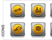 Icons for Infosmart Technologies