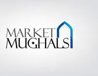 """Market Mughals"" - brand development and logo"