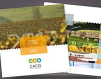 CACG, rapport d'activités 2012