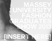 [ INSERT HERE ] Fashion Show Concept Design
