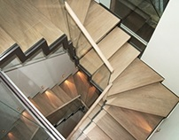 North Audley Bespoke Staircase