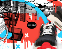 Nike Airmax Current Print Campaign