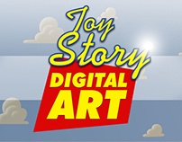 TOY STORY DIGITAL ART - WOODY