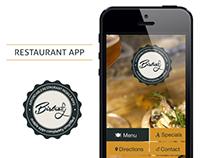 Bistrofy App