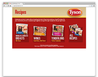 Tyson IQF Recipes