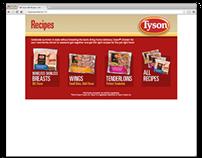 Tyson IQF Recipes