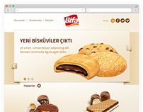 Website for BIFA Biscuits