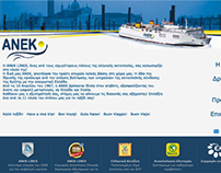 Branding & Site for Anek Lines