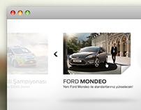 Ford Newsletter Microsite