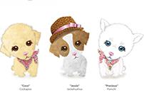 Designer Pups - Plush Toy Range