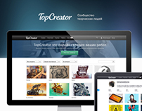 TopCreator Website