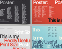 Really Useful Poster Series Pt.1