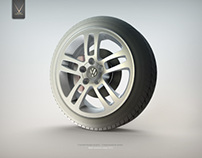 WHEEL FOR VW