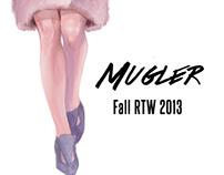 Digital Fashion Sketch: Mugler Fall RTW 2013