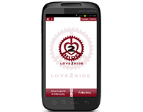Love2Ride: Gps navigation mobile application for bikes