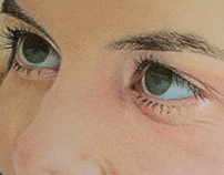 Mariline - Pastel Drawing Portrait