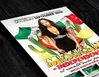 Mexican Independence |  PSD Flyer Template