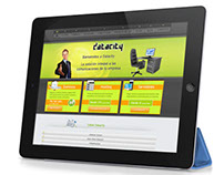 Data city hosting services. Corporate website