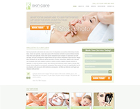 K Skin Care Website ReDesign