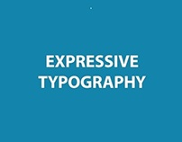 Expressive Typography (Concept Of Visual Semantics)