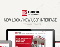Lukoil Website (Rejected Project)
