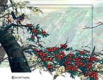 LocationDesign/BG Painting---4th year Film Seasons