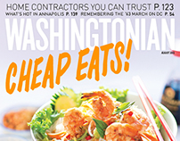 Hand Drawn Type for Washingtonian Cover
