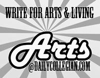 Funky college newspaper ads