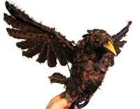 Shakespeares Globe- Mechanical Starling Puppet