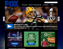 FOX - Super Bowl XLV (Concept)