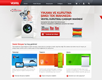 VESTEL - NEW CORPORATE WEBSITE