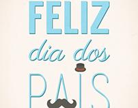 poster/banner dia dos pais (father's day)