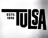 Tulsa Typographic Treatment