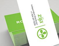Zija | business cards