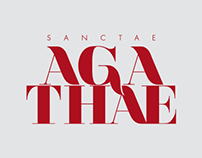 Logotype and Poster - Sanctae Agathae 2013