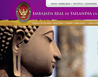 Royal Thai Embassy in Mexico Website Design