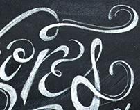 Buffet Delikatessen | Hand Lettering