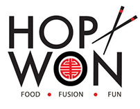 Hop Won Chinese restaurant branding
