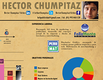 Infografía CV Hector Chumpitaz