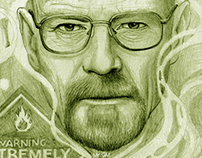 Breaking Bad Poster by Mr.GM