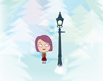 Lucy conoce Narnia