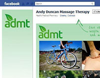 ADMT Twitter and FB landing page