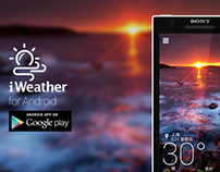 iWeather Android App Phase01