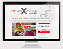 TEDx Quito 2013 Website