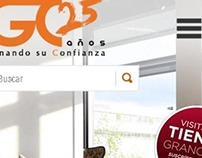 Optimization proposal for Grupo Gran Casa Website